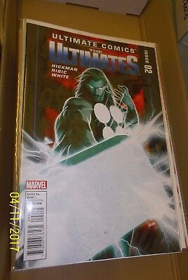 Marvel Comics Ultimate Comics The Ultimates #2 1st Print 1st Print VF/NM-