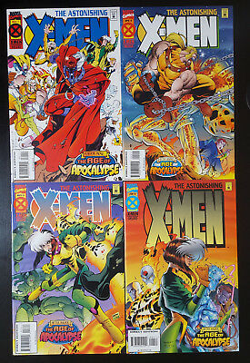 Astonishing X-Men #1-4 Complete Set (1995 Marvel) 2 3 Full Run Age of Apocalypse