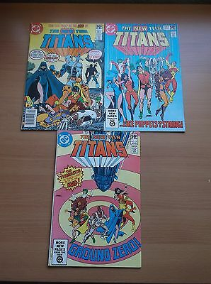 Dc: The New Teen Titans #2, 9 & 10, 1St & 2Nd Deathstroke: The Terminator, Key!!