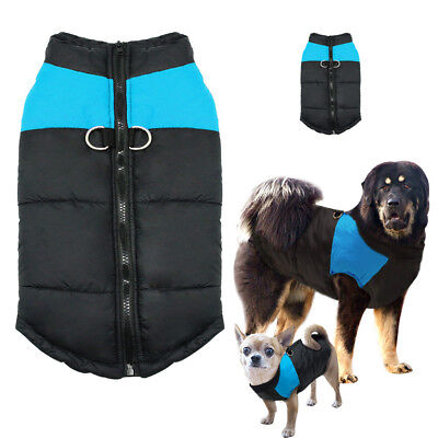 Dog Winter Clothes Waterproof Warm Coat Padded Jacket Pet Puppy Costumes S-7XL