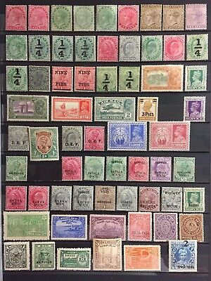 India & states - Mint with gum MH - see description & pictures