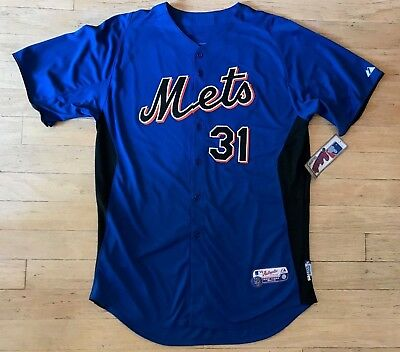 f1ce885f5 Majestic New York Mets  31 Mike Piazza Authentic Cool Base Jersey Mens Nwt