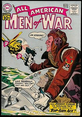 All-American Men of War # 86 VF (1961) DC 10 cent cover OO collection