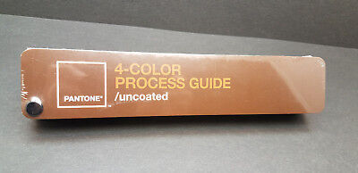 Pantone 4-Color Process Guide Uncoated (CMYK) 3,010 Colors New in shrinkwrap