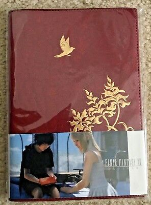 NEW Exclusive Square Enix Cafe Japan FF15 FFXV Final Fantasy 15 Noctis' Journal