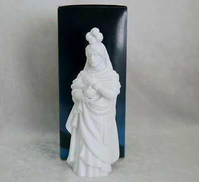 AVON Nativity Collectibles The Magi Kaspar White Porcelain Bisque New old Stock