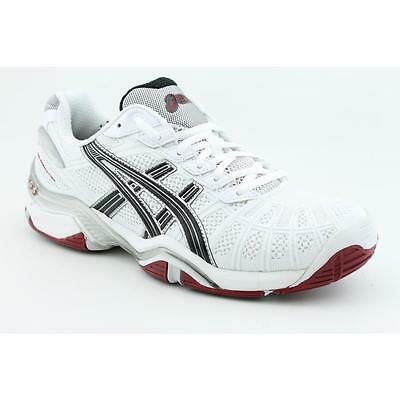 Chaussures tennis Asics Gel resolution Taille 44 US10 UK9 homme neuf Blanc