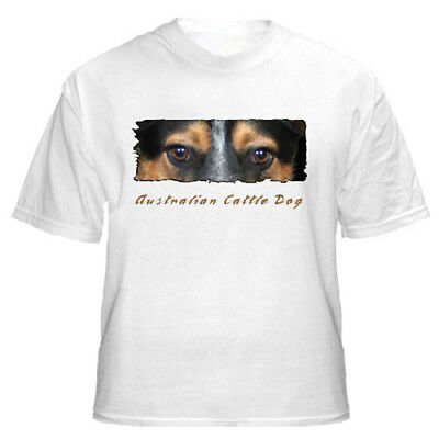 """Australian Cattle Dog   # 5   """" The Eyes Have It """"   T shirt"""