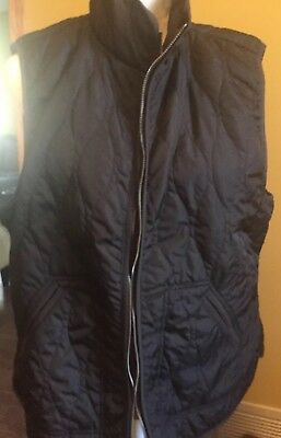Old Navy Womens Black Quilted Vest XL