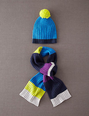 Mini Boden - Hat + Scarf Set - Size 11/12 - NEW IN BODEN BAG