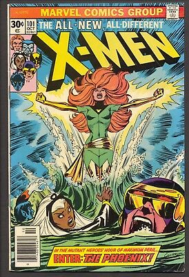 X-Men #101 (1976)~Origin and 1st appearance of Phoenix~Chris Claremont~VG/FN