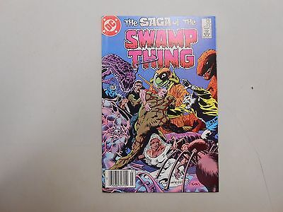 The Saga of the Swamp Thing #22! (1984, DC)! VF8.0+! Copper age DC genius! LOOK!