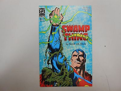 Swamp Thing #79! (1988, DC)! NM9.6+! Super high grade KEY! SUPERMAN APPEARANCE!