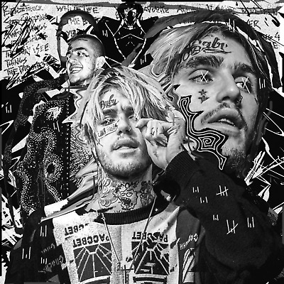 "Lil Peep Sex With My Ex Cover Poster New 2018 HQ Art Print 20×20"" 24×24"" 32×32"""