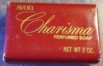 Lot of 2 Vintage 80s CHARISMA by AVON Perfumed Bar Soap 3 oz. X 2 - NOS/HTF