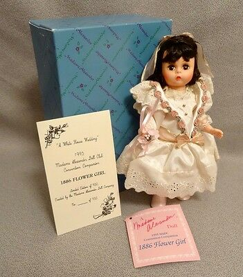 Madame Alexander 1886 FLOWER GIRL - 1995 MADC Convention Companion Doll - LE