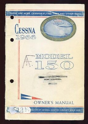 Cessna Model 150 Owner's Manual - 1966