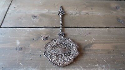 Antique Late 18th Early 19th Century Dutch Amsterdam Sterling Silver Fish Server