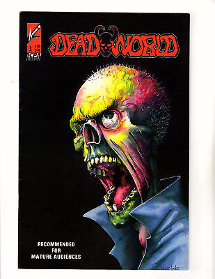 Deadworld #1 (1986, Arrow) VG+ 1st Print Vince Locke Stuart Kerr Zombie Horror