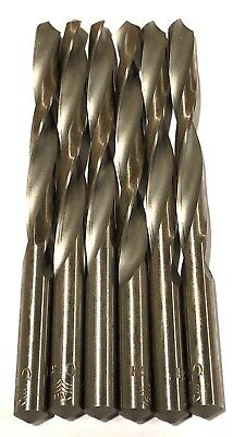 Letter Q Drill Bits High Speed Steel 6 Pack USA Made