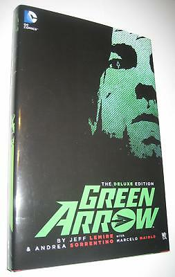 Deluxe Green Arrow by Jeff Lemire HC Andrea Borrentino Batman 1st print Komodo