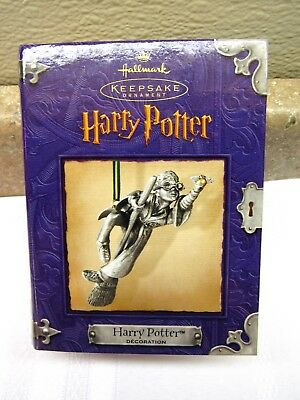 Hallmark Christmas Keepsake Ornament 2000 Harry Potter Pewter NEW FREE SHIPPING