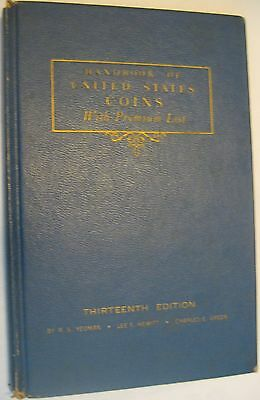 """1956 """"BLUEBOOK"""" 13th  EDITION BY R. S. YEOMAN"""
