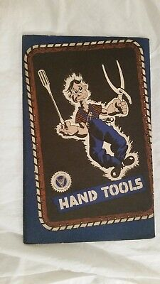 1943 GM War hand tools Original Brochure Old Showroom Salesman Dealership Book