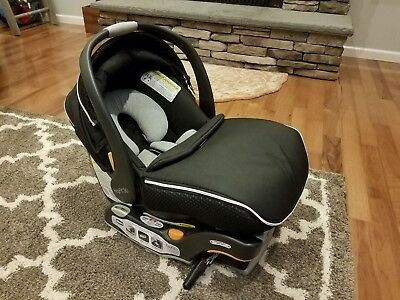 Chicco Keyfit 30 ZIP - Rear Facing Infant Car Seat and Base - Obsidian - BLACK