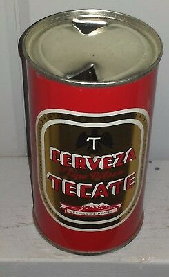 Tecate ***** flat top *****   Mexico Keglined