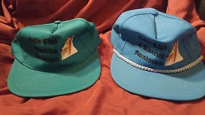 Collie Club of America Foundation Baseball Hat - 2 Embroidered 100% to Rescue