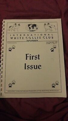 International White Collie Club Informer Book First Issue, 1996 - 100% to Rescue