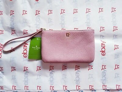 KATE SPADE New York GRANT PARK BEE Rosefrost Wristlet Wallet NWT