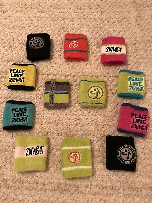 Lot Of Zumba Wristbands - 12