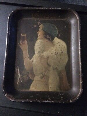 AUTHENTIC 1925 COCA COLA SERVING TRAY Party Girl