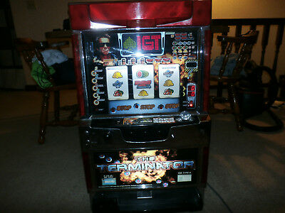 IGT Terminator Slot Machine Full size Casino Model