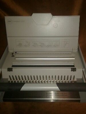 GBC CombBind C500 Manual Comb Binding Machine