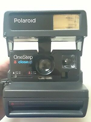 Polaroid One Step Close up 600 Instant Film Camera see description