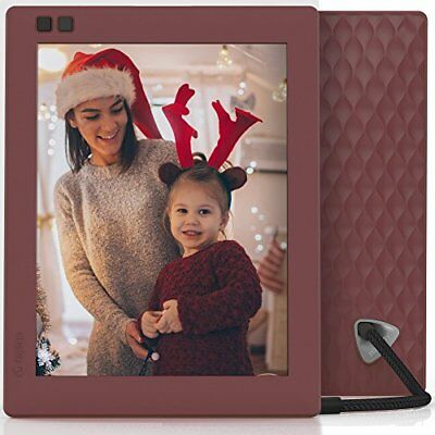 Nixplay Seed 8 inch WiFi Digital Photo Frame Mulberry Frames Cameras
