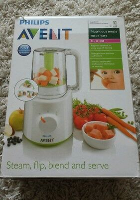 Philips Avent combined Steamer and blender all in one