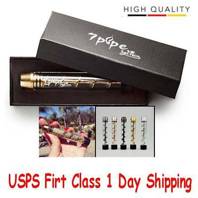 New Tank 510 Tobacco Pipe Smoking Cigarette Cigar Glass Pipes Holder Best offers