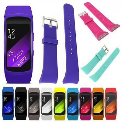 XMAS Silicone Replacement Band Wrist Strap For Samsung Galaxy Gear Fit 2 R360 UK