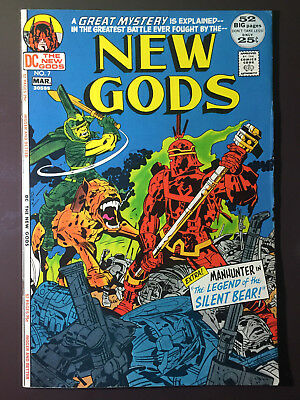 New Gods #7 1st Steppenwolf HIGH GRADE White to OW Pages JACK KIRBY!!!!!