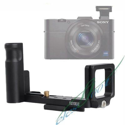 L-Shaped Custom Camera Holder Bracket Quick Release Plate for Sony RX100II