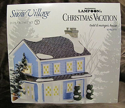 Dept 56 Todd & Margo's House  Snow Village National Lampoon's Christmas Vacation