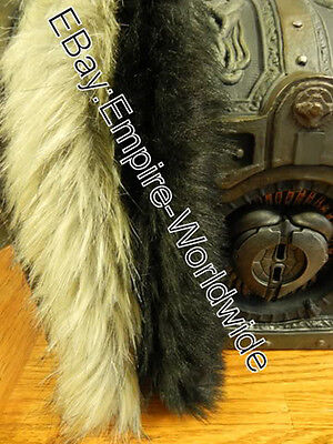 JACK SPARROW costume belt FUR PELTS charm trinkets accessories