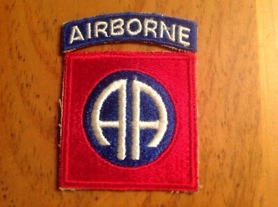 Ww2 Us Army 82Nd Airborne Division Patch