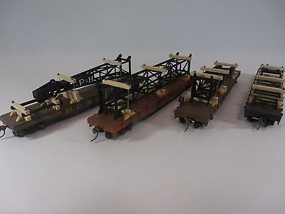 HO Scale Model Railroads - Industrial Load - 4 Car Set