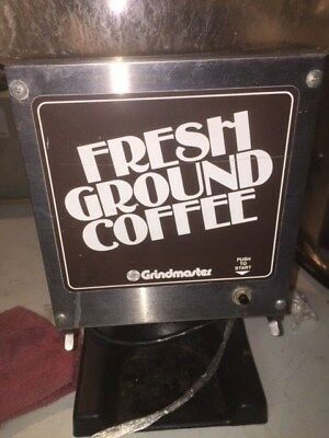 Grindmaster Model 190 Coffee Grinder Holds 6 Pounds of Coffee