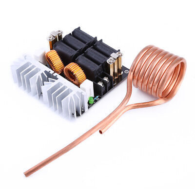 New 1000W ZVS Low Voltage Induction Heating Board Module Hearter Coil 12-48V 20A